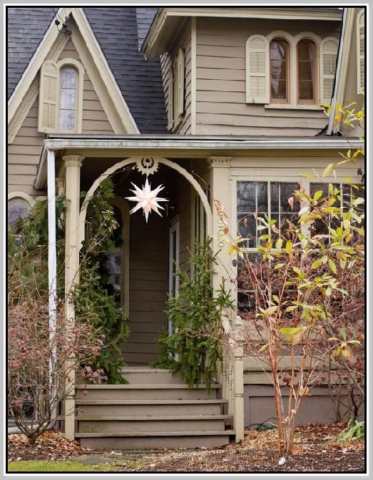 Ideas de iluminación del porche delantero