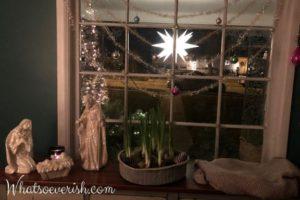 Iluminación del porche de la granja