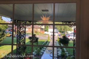 Opciones de iluminación del porche delantero