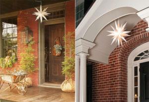 Ideas de iluminación de porche
