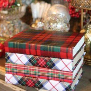 decorar libros libros navideños