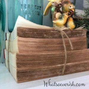 decorar libros libros con mazos
