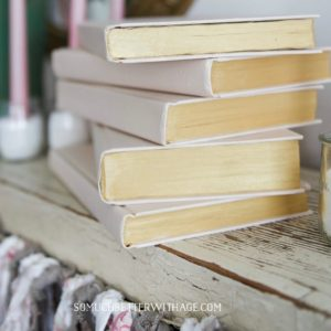 decorar libros libros pintados de cualquier manera